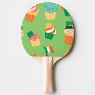 Pala De Ping Pong Modelo anaranjado verde divertido lindo de la