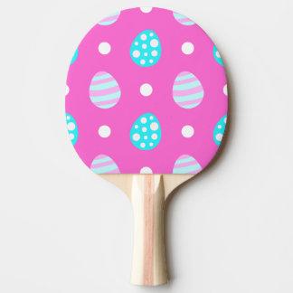 Pala De Ping Pong Modelo colorido rosado dulce alegre de los huevos