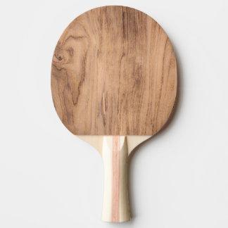 Pala De Ping Pong Modelo de madera de Brown