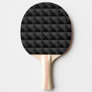 Pala De Ping Pong Modelo geométrico moderno de la casilla negra