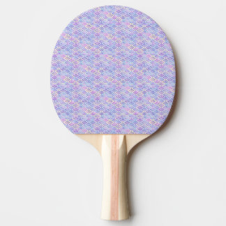 Pala De Ping Pong Modelo púrpura del pastel de la sirena del arco