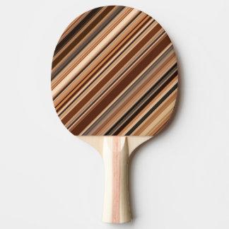 Pala De Ping Pong Modelo rayado de Brown