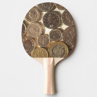 Pala De Ping Pong Monedas