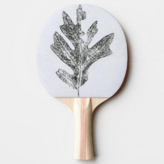 """Pala De Ping Pong """"Naturaleza botánica de la impresión de la"""