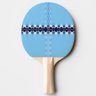 Pala De Ping Pong Ondulación azul