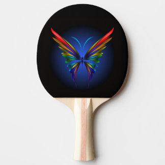 Pala De Ping Pong Paleta abstracta del ping-pong de la mariposa