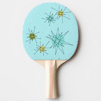 Pala De Ping Pong Paleta atómica azul del ping-pong de Starburst del