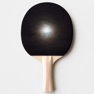 Pala De Ping Pong Paleta brumosa del ping-pong de la Luna Llena