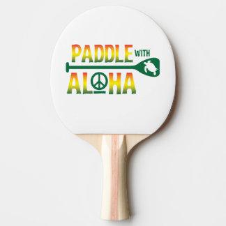 Pala De Ping Pong Paleta con hawaiana - paleta de Pong del silbido