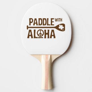 Pala De Ping Pong Paleta con la paleta del ping-pong de la hawaiana