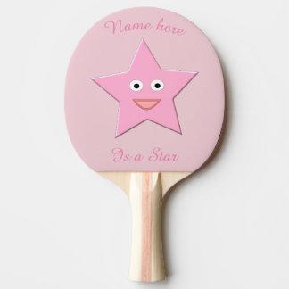 Pala De Ping Pong Paleta de encargo del ping-pong de la estrella