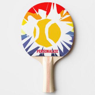 Pala De Ping Pong Paleta de encargo del ping-pong del agujero de la
