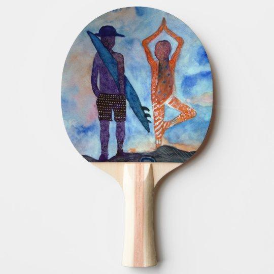 Pala De Ping Pong Paleta de hadas del ping-pong del dibujo de la
