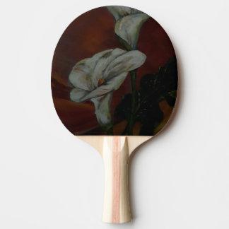 Pala De Ping Pong Paleta de los tenis de mesa de los lirios de Arum