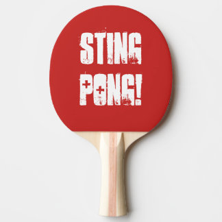 """Pala De Ping Pong Paleta de los tenis de mesa de """"Sting Pong"""""""