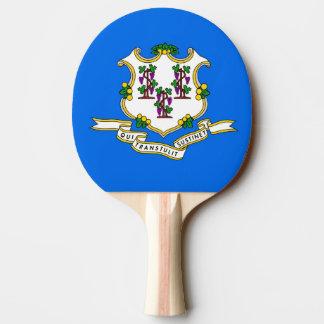 Pala De Ping Pong Paleta del ping-pong con la bandera de