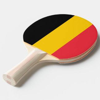 Pala De Ping Pong Paleta del ping-pong con la bandera de Bélgica