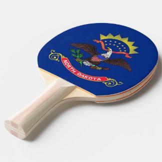 Pala De Ping Pong Paleta del ping-pong con la bandera de Dakota del