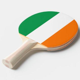 Pala De Ping Pong Paleta del ping-pong con la bandera de Irlanda