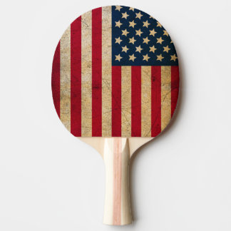 Pala De Ping Pong Paleta del ping-pong de la bandera americana del