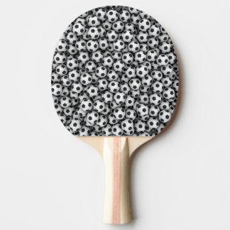 Pala De Ping Pong Paleta del ping-pong de los balones de fútbol