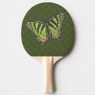 Pala De Ping Pong Paleta del ping-pong de Swallowtail del Celtic