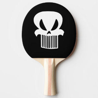 Pala De Ping Pong Paleta del ping-pong del cráneo de la parrilla