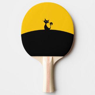 Pala De Ping Pong Paleta del ping-pong del gato negro, parte