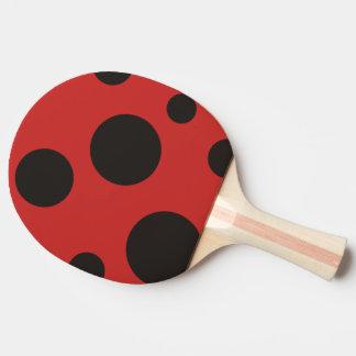 Pala De Ping Pong Paleta del ping-pong del modelo de la mariquita