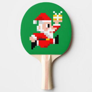 Pala De Ping Pong Paleta del ping-pong del navidad: Papá Noel de 8