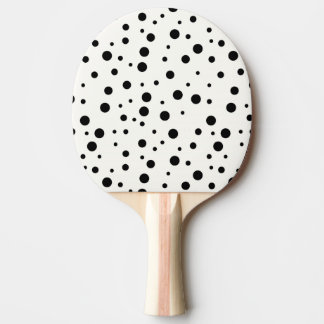 Pala De Ping Pong Paleta del ping-pong, parte posterior negra del
