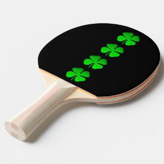 Pala De Ping Pong paleta del pong del rosa del trébol 4leaf