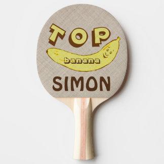 Pala De Ping Pong Paleta divertida de encargo del ping-pong del