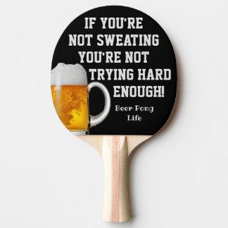 Pala De Ping Pong Paleta divertida del ping-pong de la cerveza de la