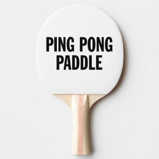 Pala De Ping Pong Paleta genérica del ping-pong