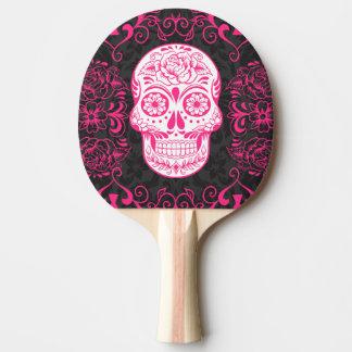 Pala De Ping Pong Paleta gótica del ping-pong del negro del rosa del