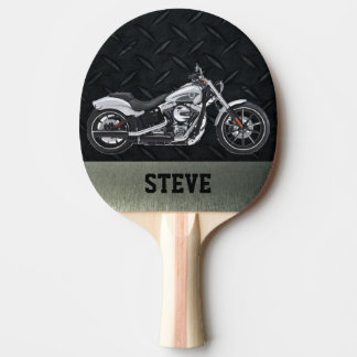 Pala De Ping Pong Paleta personalizada motocicleta dura del