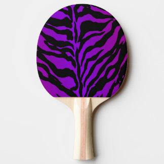Pala De Ping Pong Paleta violeta eléctrica del ping-pong de la piel