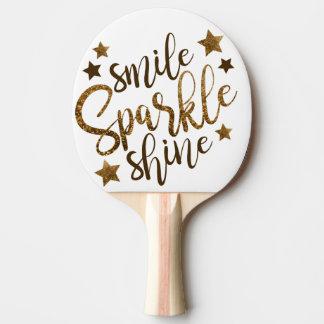 Pala De Ping Pong Paletas del ping-pong de la sonrisa, de la chispa