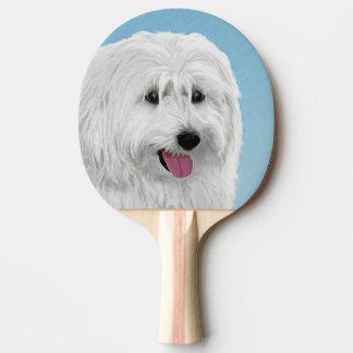 Pala De Ping Pong Perro pastor polaco de la tierra baja
