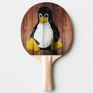 Pala De Ping Pong pingüino