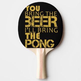Pala De Ping Pong Pong de la cerveza de la paleta del ping-pong