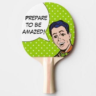 Pala De Ping Pong Prepárese para ser paleta sorprendente del