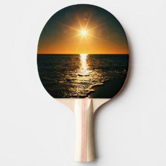 Pala De Ping Pong Puesta del sol