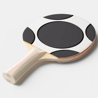 Pala De Ping Pong Punto gris oscuro