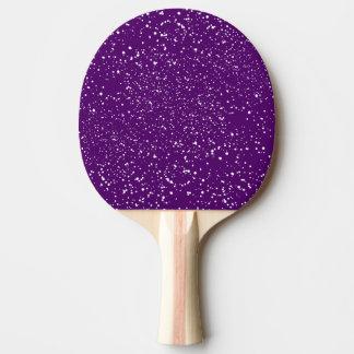 Pala De Ping Pong Puntos blancos abstractos del confeti en deporte