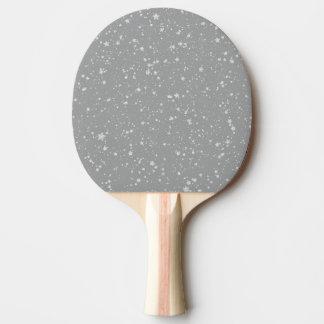 Pala De Ping Pong Purpurina Stars4 - Plata