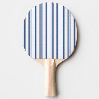Pala De Ping Pong Raya estrecha que hace tictac del colchón azul