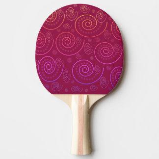 Pala De Ping Pong Remolinos del extracto