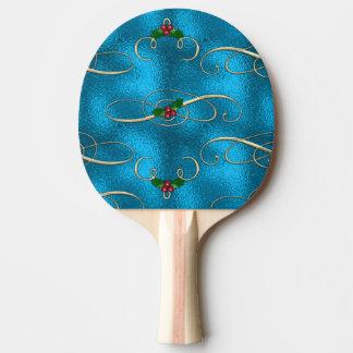 Pala De Ping Pong Remolinos modernos y elegantes del navidad